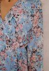 Niebieska Sukienka Viviara
