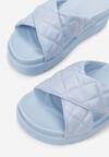 Niebieskie Klapki Laonise