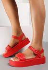 Czerwone Sandały Larimisia