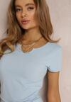 Jasnoniebieski T-shirt Pallemilia