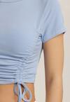 Niebieski T-shirt Caesilles