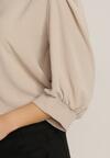 Beżowa Bluzka Themidelia