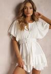 Biała Sukienka Rhenenea