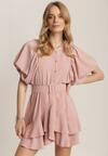 Ciemnoróżowa Sukienka Rhenenea