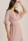 Różowa Sukienka Nyxahria