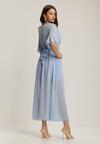 Niebieska Sukienka Nyxahria