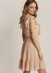 Łososiowa Sukienka Coraelura
