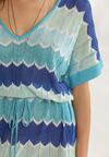 Niebieska Sukienka Phaetholphi