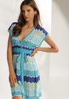 Niebieska Sukienka Isisa