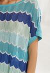 Niebieska Bluzka Athaia