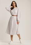 Biała Sukienka Crethesis