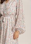 Biało-Różowa Sukienka Asheshi