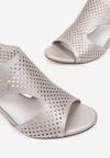Beżowe Sandały Samanise