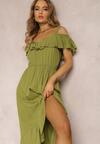 Zielona Sukienka Chelgana