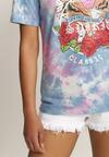 Różowy T-shirt Taphophai