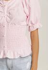Jasnoróżowa Bluzka Pesheilla
