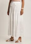 Biała Spódnica Seleilise