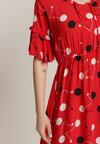Czerwona Sukienka Ethusi