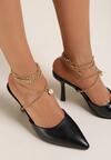 Czarne Sandały Athizaxaura