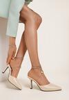Beżowe Sandały Athizaxaura