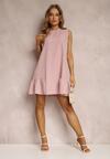 Różowa Sukienka Phalephia