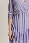 Liliowa Sukienka Nysethia
