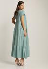 Miętowa Sukienka Calicine