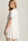 Biała Sukienka Netheithe