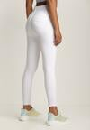 Białe Spodnie Skinny Nephethia