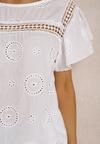 Biała Bluzka Athileleia