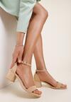Beżowe Sandały Athizertise