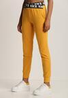Żółte Spodnie Dresowe Taphixie