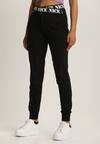 Czarne Spodnie Dresowe Taphixie