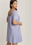 Liliowa Sukienka Nadhii