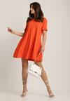 Pomarańczowa Sukienka Nadhii