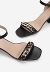 Czarne Sandały Athizisa