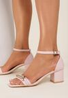 Różowe Sandały Athizisa