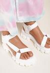 Białe Sandały Proseshi