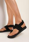 Czarne Sandały Pixeshi