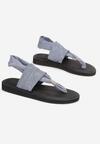 Niebieskie Sandały Pixeshi