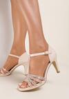 Beżowe Sandały Zelipe