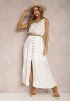 Biała Sukienka Loraeshell