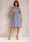 Niebieska Sukienka Vylerrith