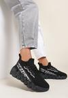 Czarne Sneakersy Stephitrius