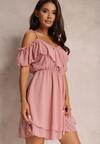 Różowa Sukienka Meremeda