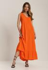 Pomarańczowa Sukienka Kalithusa