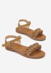 Beżowe Sandały Pargenia