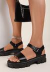 Czarne Sandały Coreamala