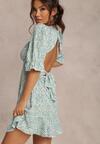 Niebieska Sukienka Gaelina
