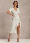 Biała Sukienka Amiel